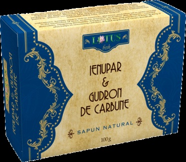 Poza produs Sapun cu Ienupar si Gudron de carbune